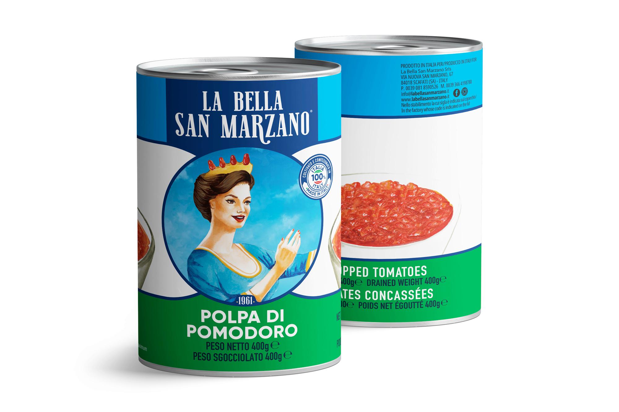 La Bella San Marzano - Polpa di Pomodoro 400 gr