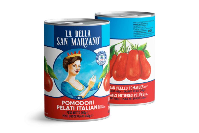 La Bella San Marzano - Pomodori Pelati Italiani 400 gr