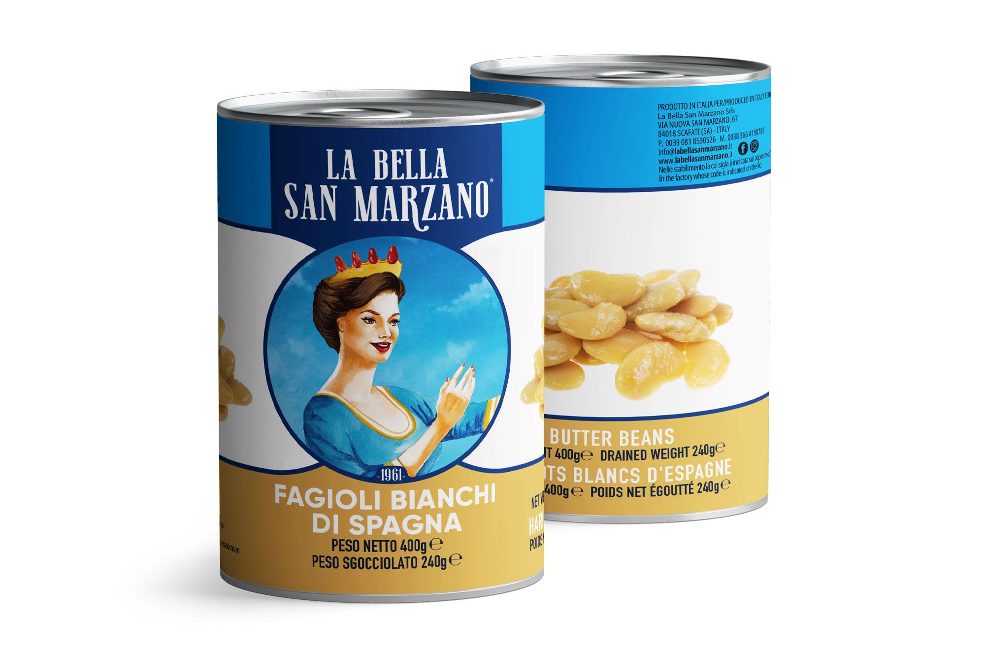 La Bella San Marzano - Fagioli Bianchi di Spagna 400 gr
