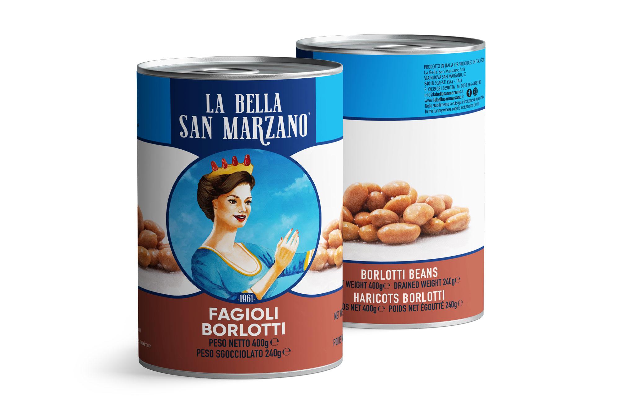 La Bella San Marzano - Fagioli Borlotti 400 gr