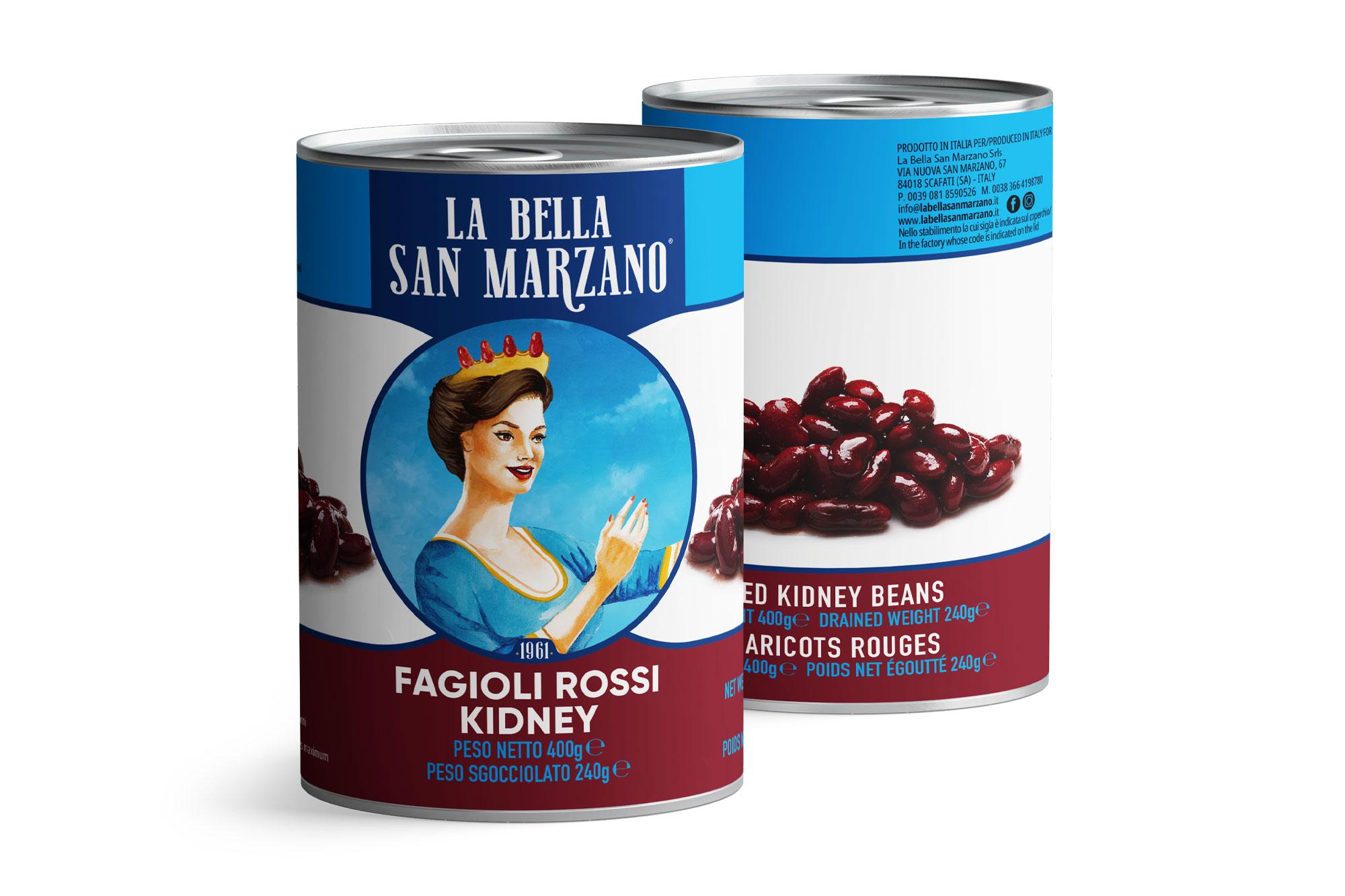 La Bella San Marzano - Fagioli Rossi Kidney 400 gr