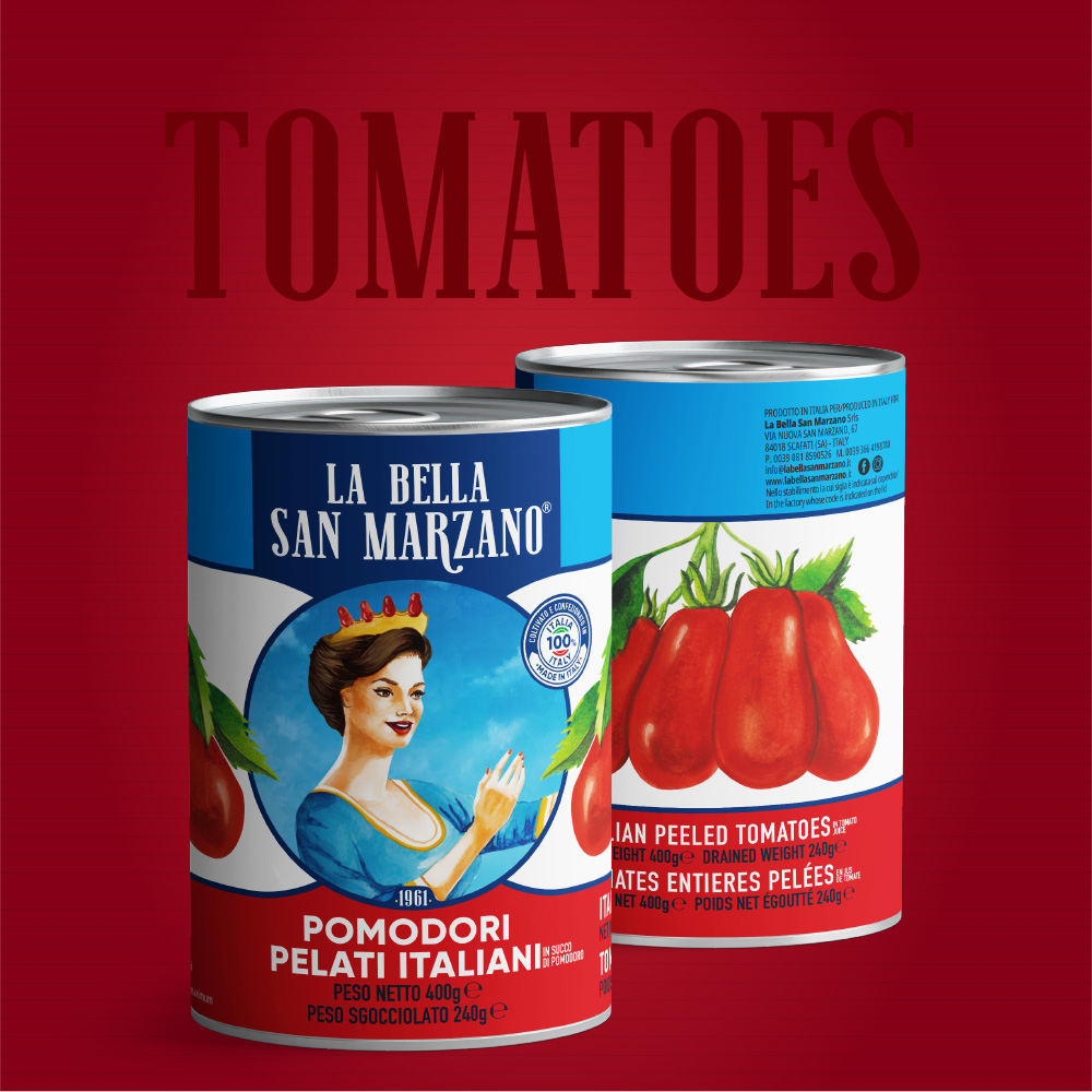 La Bella San Marzano - Linea Pomodori