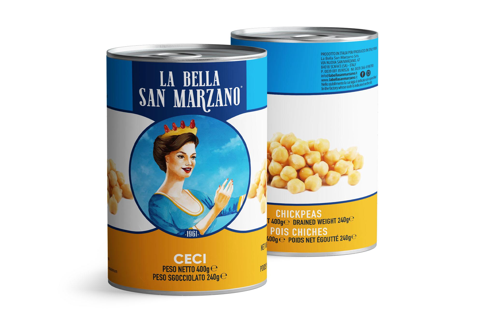 La Bella San Marzano - Ceci 400 gr