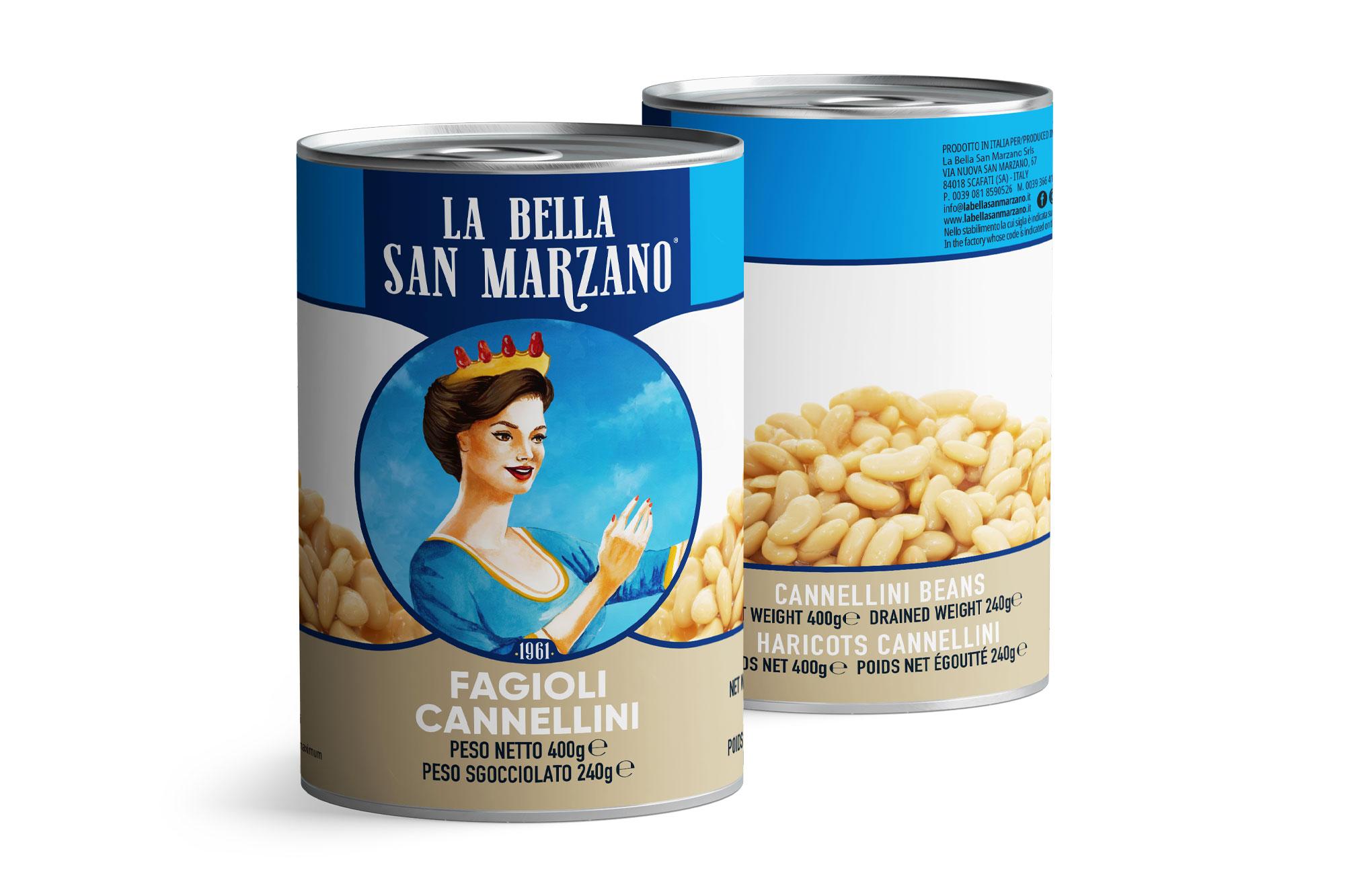 La Bella San Marzano - Fagioli Cannellini 400 gr