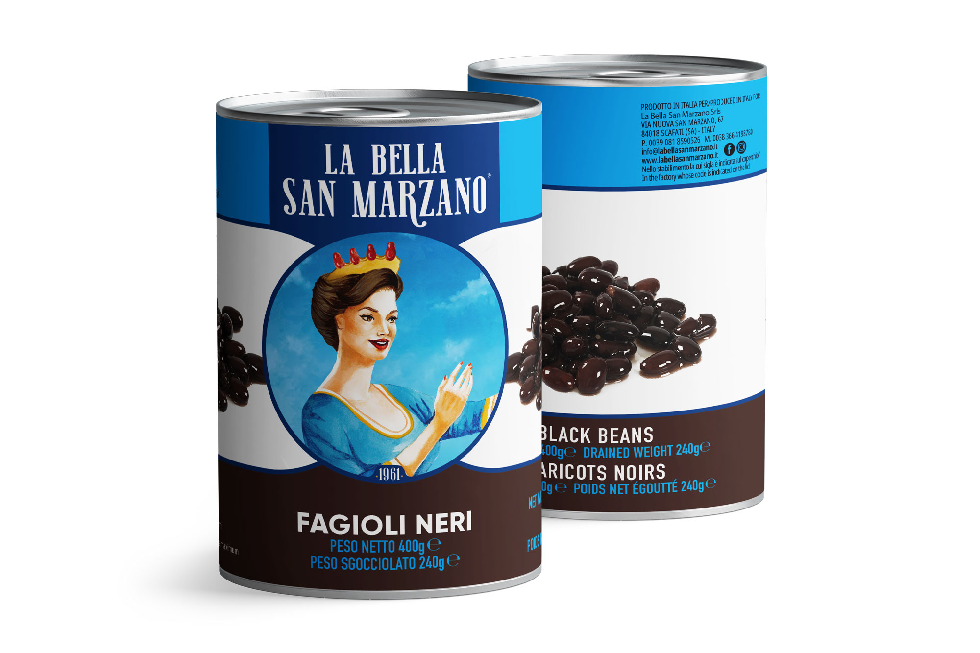La Bella San Marzano - Fagioli Neri 400 gr