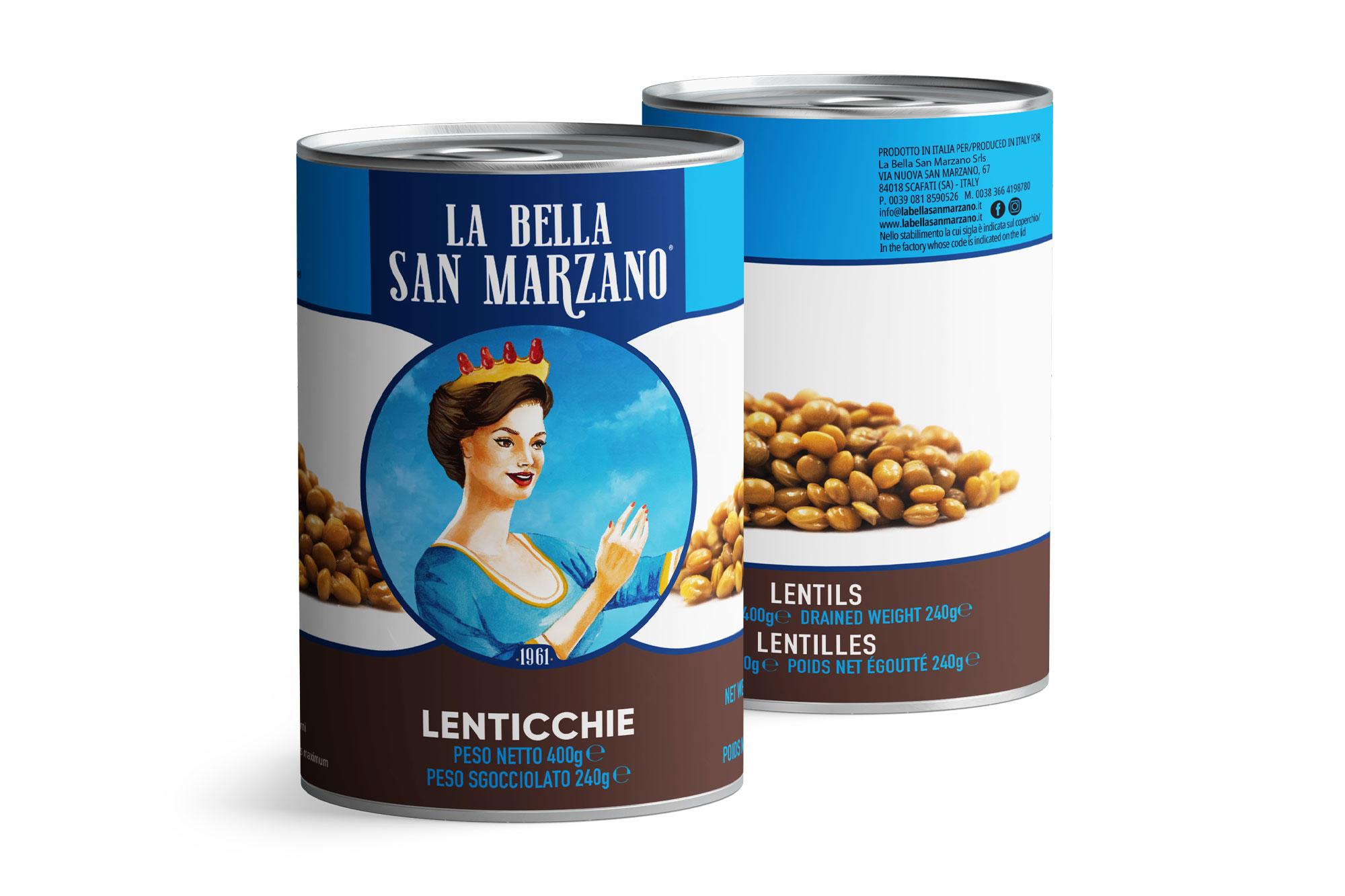 La Bella San Marzano - Lenticchie 400 gr