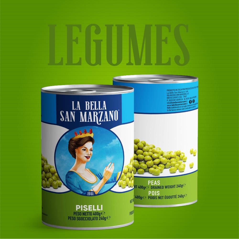 La Bella San Marzano - Linea Legumi